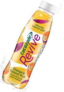 Lucozade Revive Orange & Passionfruit 380ml, 24 Pack BBE 04/2021