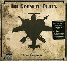 THE DRESDEN DOLLS - Yes, Virginia... (CD, Like New)
