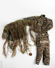1:6 Action Figure US Army Marine Sniper CAMOUFLAGE Uniform + GHILLIE SUIT DA95
