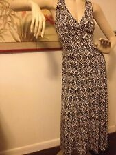 SALE!!!!  Black and White Long Flowing Maxi Dress Size 8
