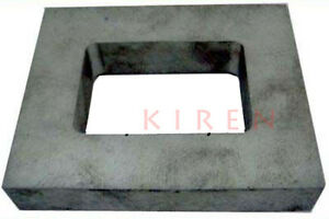 """RUBBER MOLD FRAME 1"""" THICK LARGE PRE CUT MOLD FRAME MACHINED ALUMINUM VULCANIZER"""