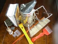 Large Steel Bee Smoker and Starter Kit