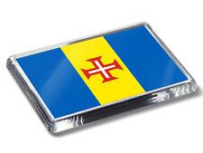 Madeira Flag National Colours High Quality Fridge Magnet