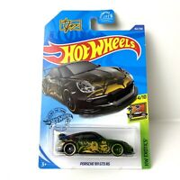 Hot Wheels 2020 HW Exotics Tanner Fox Black Porsche 911 GT3 RS