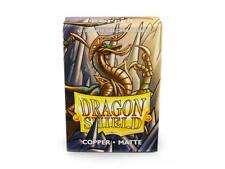 Dragon Shields Japanese Matte Copper 60ct Size Sleeves yugioh vanguard