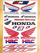 15in1 HONDA CRF HRC Aufkleber Wetterfest Sticker MotoGP Motorrad Racing WING CBR