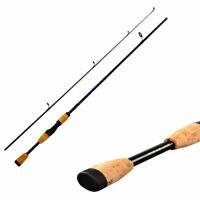 Glass Reinforced Fishing Rod Travel Spinning Lure Rod Sea Saltwater Pole 1.8M