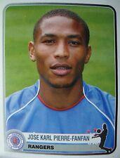Panini 319 jose Karl pierre-fanfan Rangers FC Champions Europe 1955-2005