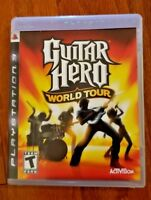 GUITAR HERO WORLD TOUR – PLAYSTATION 3 (PS3) – VIDEO GAME