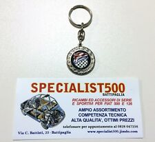 PORTACHIAVI GIANNINI DOUBLE FACE     ( FIAT 500 EPOCA )