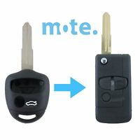 Mitsubishi Lancer CJ 2007-14 Remote Flip Key Blank Replacement Shell/Case MIT8R