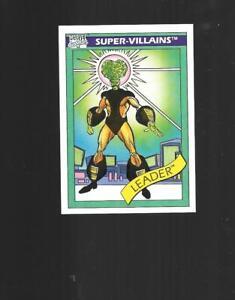 1990 MARVEL UNIVERSE SERIES 1 TRADING CARD 70 LEADER INCREDIBLE HULK VILLAIN