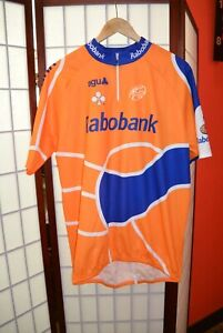 Agu Radobank  retro vintage cylcling jersey 2XL .ALY