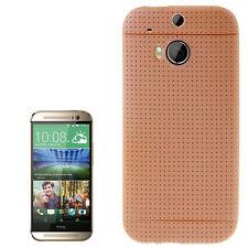 Smart Protectors! Softcase Cover Case Schutzhülle Hülle HTC One M8 Braun