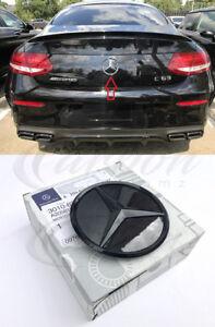 Mercedes-Benz C-Klasse C63 AMG Original OE Glanz Schwarz Heck Emblem 3DR 15+