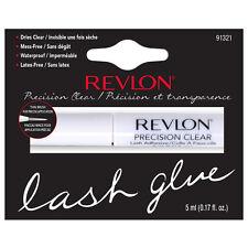 Revlon Precision Eyelash Glue Brush-On Lash Adhesive - Choose CLEAR or DARK Tone