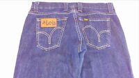 Lois Jeans Wide Leg Womens SZ 28 Tall Dark Wash Spain 31 x 35 Actual Pants