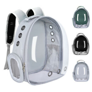 Pet Carrier Backpack Travel Space Capsule Puppy Dog Cat Bag Breathable Astronaut