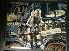 MIKE PORTNOY SIGNED 8x10 DREAM THEATER AUTOGRAPH COA WINERY DOGS m