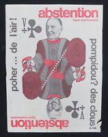 Supplément à ROUGE n°23 POMPIDOU POHER Ligue Communiste Krivine 1969