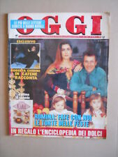 OGGI 1/2 1992 Albano Romina Power Francesco Nuti Oriana Fallaci Bonaccorti [G798