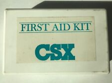 CSX Railroad First Aid Kit Opened All Contents Inside