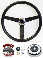 "1970-1973 Mustang steering wheel PONY 14 3/4"" VINTAGE BLACK Grant"