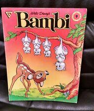 Walt Disney Bambi Soft Cover, 1988, Gladstone, Oversized, Comic Album 9