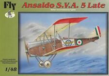 ANSALDO SVA-5 LATE  WW I FIGHTER (REGIA AERONAUTICA/ITALIAN AF MKGS) 1/48  FLY
