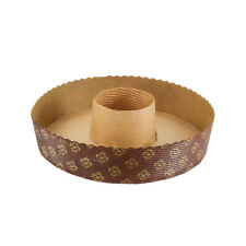 """Round Disposable Paper Baking Tube Pan 7-1/4"""" Dia., 1-9/16"""" High - Case of 540"""