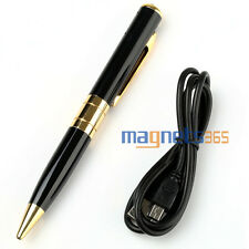 CCTV Photo Mini SPY Pen HD Cam Camera Video USB DVR Recording Hidden SpyCam 32GB