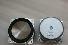 "2pcs 2""inch 52MM 8ohm 25W Full range speaker Loudspeaker PP metal basin"