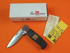 AL MAR Seki Japan Japanese Folding Pocket Knife w/ Box