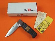 AL MAR Seki Japan Japanese Folding Pocket Knife w/ Box