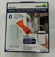 LEVITON DDL06 Decora Dimmer/Timer Bluetooth Technology For Smartphone & Tablet!