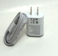 New Original OEM LG MCS-01WR 1.2 Amp Micro USB Data Cable + AC Wall Charger