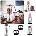 4 in 1 Jug Blender Smoothie Maker Mixer Grinder Fruit Juicer Food Processor New