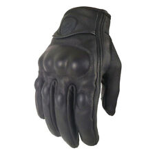 Martian Motocross Motorcycle Glove Bike Cycling Hard Knuckle Touch Screen Black