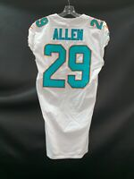#29 NATE ALLEN MIAMI DOLPHINS GAME USED AUTHENTIC NIKE JERSEY SZ-40 YR-17