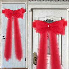 Luxury Door Bow Christmas Xmas New Year Christening Baby Shower Shop Front Decor