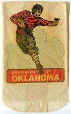 Oklahoma University Football Vintage Decal in original package