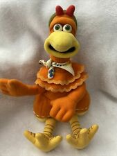 Vintage Chicken Run Ginger Stuffed Beanie Plush Playmates Toys Dreamworks 2000