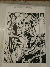 DC Comics Vertigo FABLES #143 PAGE 18 Splash Page Original Artwork