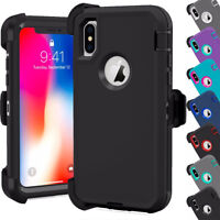Defender Armor Holster Cover For iPhone 7/6/5/5C (Belt Clip fit Otterbox Series)