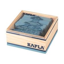 Kapla 40 Box Light Blue Pine Wood Building Bricks (c40bc) NEW! #