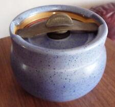 Antiguo Royal Doulton Polvo Azul tabaco Tarro de patente 194168 X8916 21225