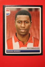 PANINI CHAMPIONS LEAGUE 2006/07 # 204 PSV EINDHOVEN MENDEZ BLACK BACK MINT!