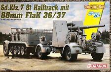 Dragon Sd.Kfz. 7 8ton & 88mm Flak 36/37 1:35 Smart Kit 6948 neuwertig