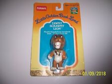 Tawny Scrawny Lion Playskool Little Golden Book Land Figure Vintage1989 RARE!