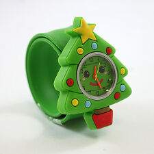 Kids POPWATCH Christmas Tree Secret Santa Gift Slap Watch Stocking Filler J27